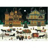 HM520-112 冬-聖誕氣氛 Winter-X'mas Season  520片拼圖